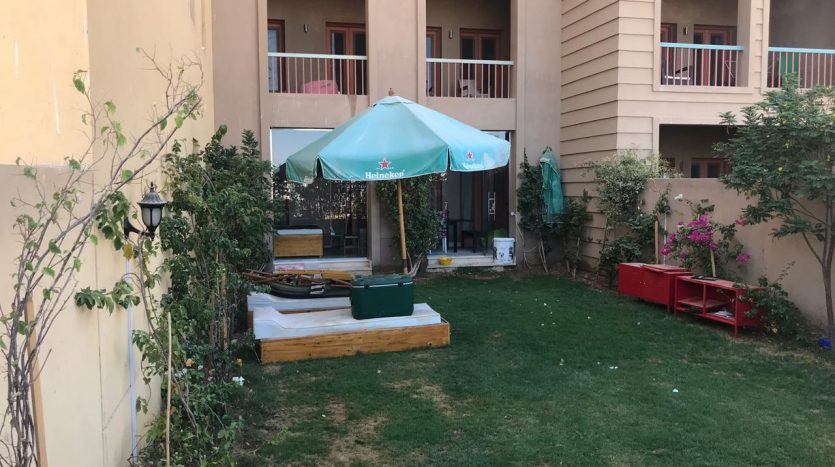 Resale in El Gouna with Garden